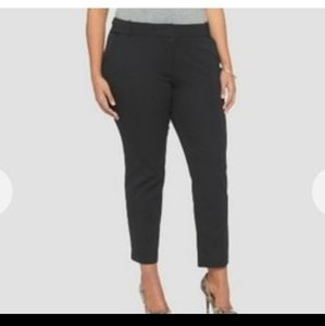 Ava & Viv Black Ankle Pants Size 20W